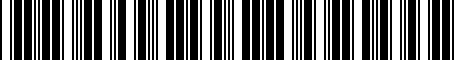 Barcode for PT90803151