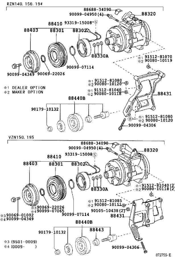 35 1996 Toyota Tacoma Parts Diagram